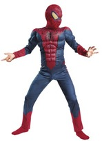 Spiderman Boy's Movie Classic Muscle Costume