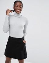Monki Turtleneck Knit Top