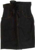 Jean Paul Gaultier Black Denim - Jeans Skirts
