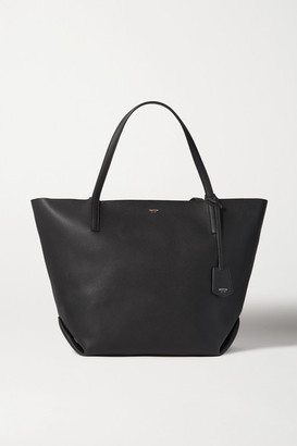 Oroton Duo Large Textured-leather Tote - Black