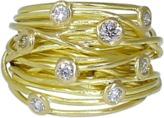 BOAZ KASHI Diamond Wire Wrap Ring