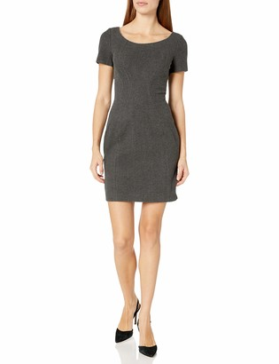 T Tahari Women's Pepita Short Sleeve Knit Dress