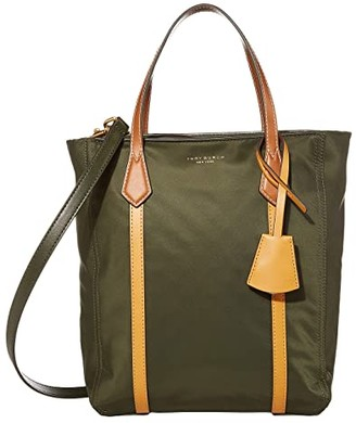 Tory Burch Perry Nylon Color-Block North/South Tote