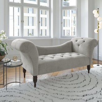 Darby Home Co Dendy Tufted Chaise Lounge Upholstery Color: Mystere Mondo