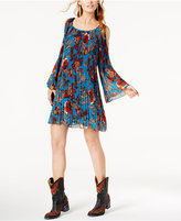 INC International Concepts Anna Sui Loves Cold-Shoulder Trapeze Dress, Created for Macy's