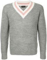 Undercover knitted v-neck jumper