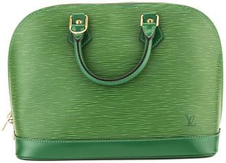 Louis Vuitton Green Epi Leather Alma Pm