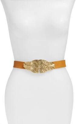Raina Oversized Buckle Belt