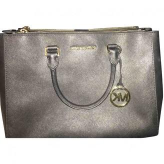 Michael Kors Sutton Black Leather Handbags