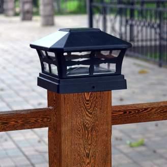 Elegant Home Fashions Solar Powered Fence Post Cap