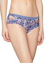 Sloggi Women's sls Aqua Romance Hipster Bikini Bottoms, Multicoloured (BLUE - LIGHT COMBINATION)
