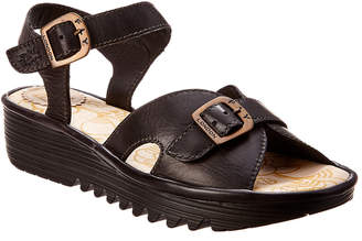Fly London Egal Leather Sandal