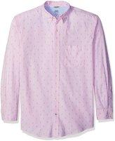 Izod Men's Big and Saltwater Newport Oxford Long Sleeve Shirt
