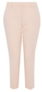 Dorothy Perkins Womens Dp Petite Pale Pink Ankle Grazer Trousers, Pink