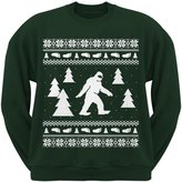 Old Glory Sasquatch Ugly Christmas Sweater Dark Crew Neck Sweatshirt