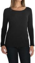 August Silk Rib-Knit Sweater - Silk Blend (For Women)