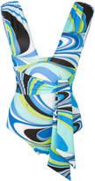 Emilio Pucci waistband swimsuit