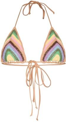 Frankie's Bikinis Nirvana triangle bikini top