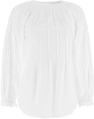 See by Chloe Pleated Blouse
