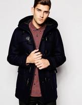 Esprit Wool Duffle Coat - Blue
