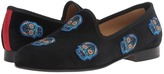 Del Toro Dia De Los Muertos Embroidered Slipper Men's Shoes