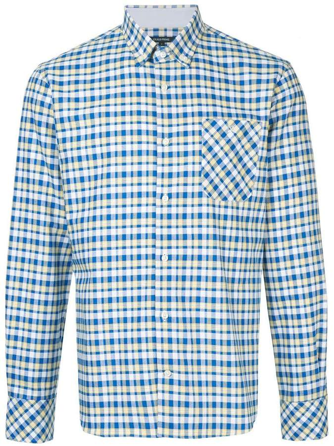 GUILD PRIME check collared shirt
