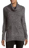 Joan Vass Cowlneck Sweater