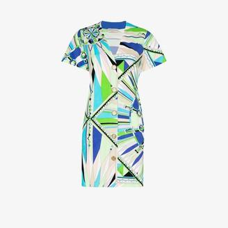 Emilio Pucci Bes print mini dress