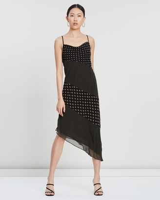 C/Meo Palatial Midi Dress