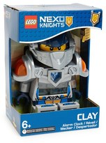 Lego 'Nexo Knights(TM) - Clay(TM)' Alarm Clock
