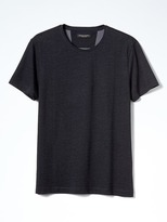 Banana Republic Luxury-Touch Plaited Crew Tee