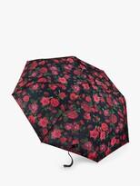 Thumbnail for your product : Fulton Minilite-2 Romance Umbrella, Black/Red