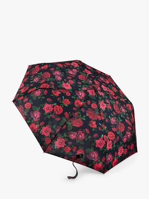 Fulton Minilite-2 Romance Umbrella, Black/Red