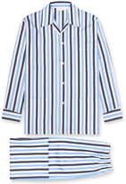 Derek Rose Men's Windsor Stripe Classic Fit Pajamas