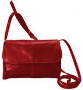 David King Women's 3521 Florentine Flap Front Handbag