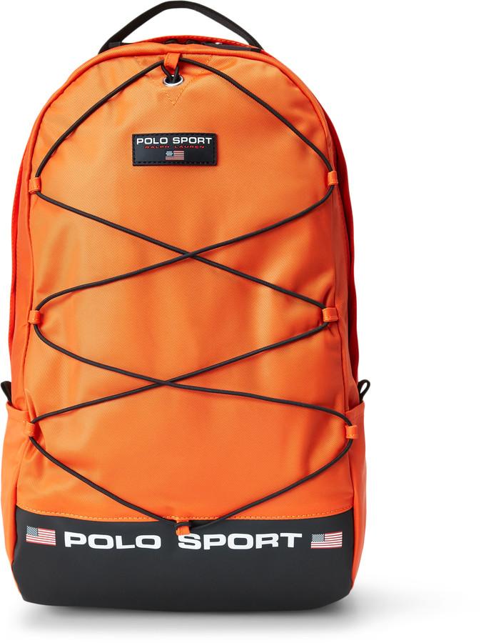 Ralph Lauren Nylon Polo Sport Backpack