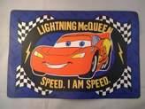 Children's Place Jay Franco Disney Cars Lightning Mc Queen Vinyl Mat