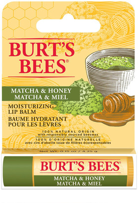 Burt's Bees 100% Natural Origin Moisturising Lip Balm Matcha & Honey 4.25G