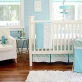 My Baby Sam Follow Your Arrow 3 Piece Crib Bedding Set, Aqua by