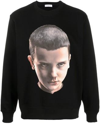 Ih Nom Uh Nit Eleven-print cotton sweatshirt
