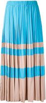 No.21 pleated skirt - women - Silk/Acetate - 40