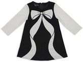 Biscotti Infant Girls' Colorblocked Bow Dress - Sizes 12-24 Months