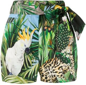 Dolce & Gabbana Jungle Print Shorts