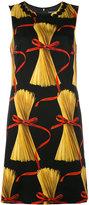 Dolce & Gabbana patterned shift dress - women - Silk/Cotton/Polyester/Spandex/Elastane - 42