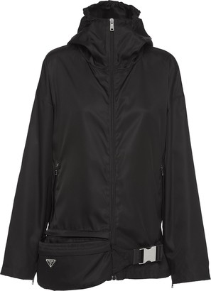 Prada Belt-Bag Jacket