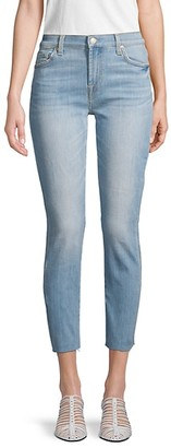 7 For All Mankind Roxanne Cut-Off Ankle Skinny Jeans