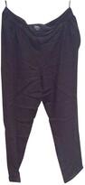 APC black Viscose Trousers