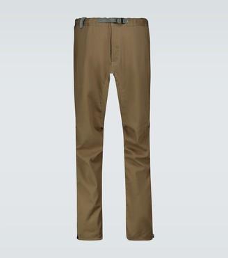 And Wander Technical fabric climbing pants