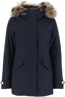 Woolrich Fur Trimmed Hooded Jacket
