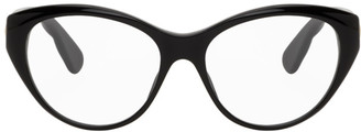 Gucci Black Oval Glasses
